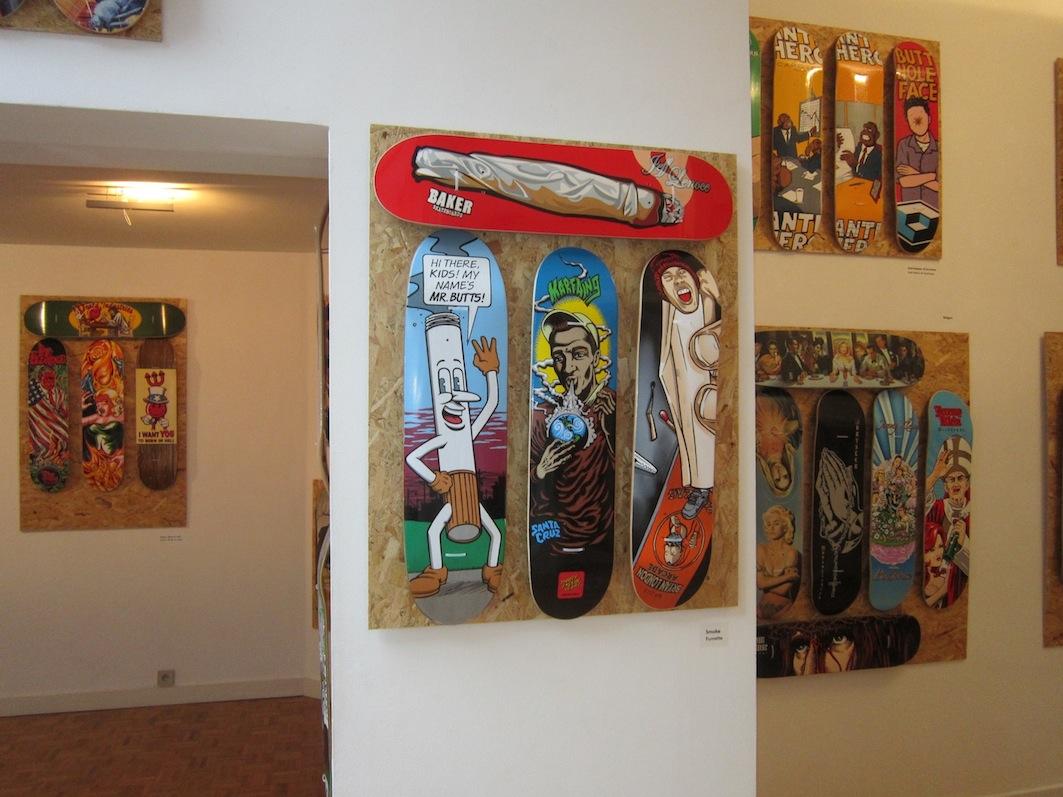 D Exhibition : Apa skateboards  exhibition